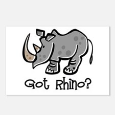 Got Rhino? Postcards (Package of 8)