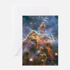 Carina Nebula Greeting Card