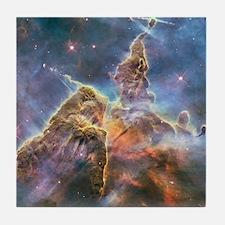Carina Nebula Tile Coaster