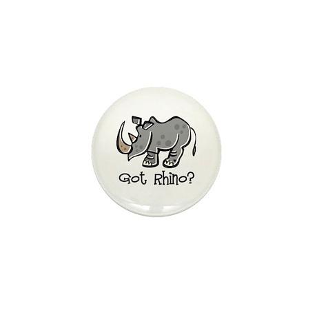 Got Rhino? Mini Button (100 pack)