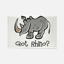 Got Rhino? Rectangle Magnet