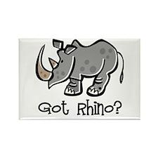 Got Rhino? Rectangle Magnet (10 pack)