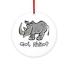 Got Rhino? Ornament (Round)