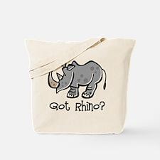 Got Rhino? Tote Bag