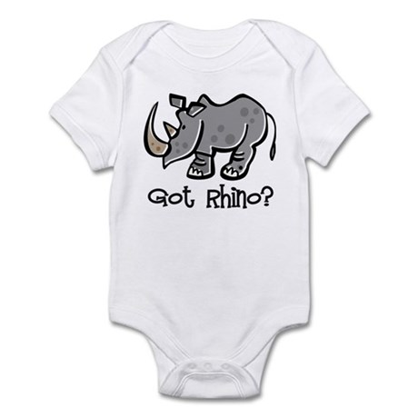 Got Rhino? Infant Bodysuit