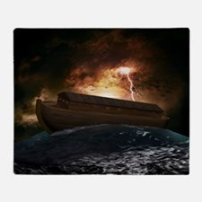 Noahs Ark Throw Blanket