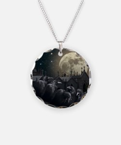 Gothic Crows Necklace