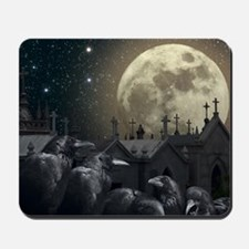 Gothic Crows Mousepad