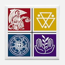 St Matthew Trinity Tile Coaster