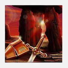 Excalibur Sword Tile Coaster