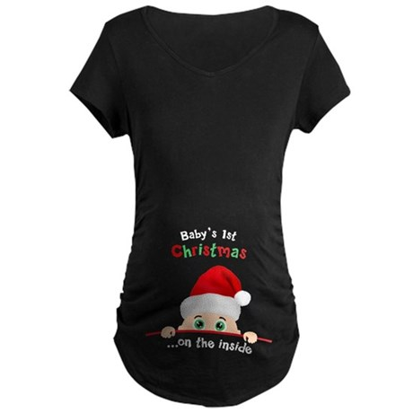 First Christmas Maternity T-Shirts