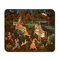 The Hunting Party Mousepad