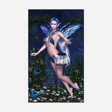 Blue Fairy Sticker (Rectangle)