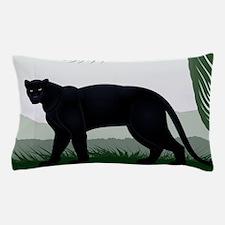 Black Jungle Panther Pillow Case