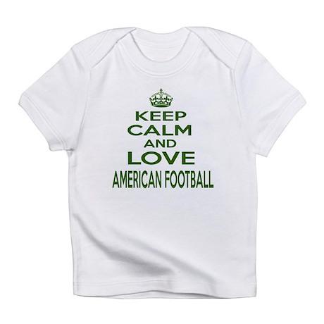 Keep calm and love American Footbal Infant T-Shirt