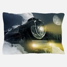 Steam Locomotive Pillow Case
