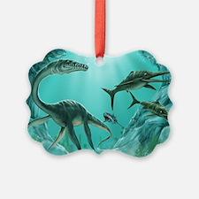 Underwater Dinosaur Ornament