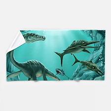 Underwater Dinosaur Beach Towel
