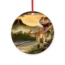Predator Dinosaurs Round Ornament