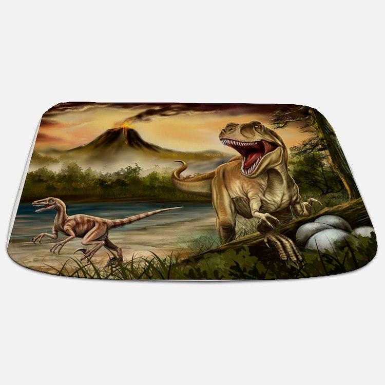 dinosaur bathroom accessories decor cafepress