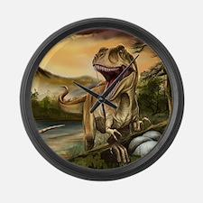 Predator Dinosaurs Large Wall Clock