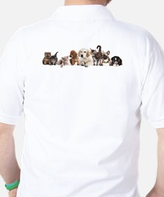 Cute Pet Panorama T-Shirt