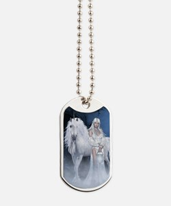 White Lady and Unicorn Dog Tags