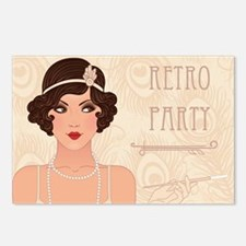 Charleston Retro Party Postcards (Package of 8)