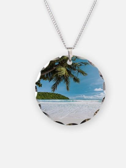Tropical Palm Beach Necklace