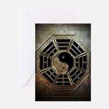 Yin Yang Bagua Greeting Cards (Pk of 10)