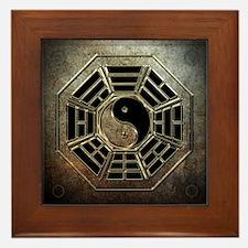 Yin Yang Bagua Framed Tile