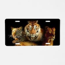 Wild Predators Aluminum License Plate