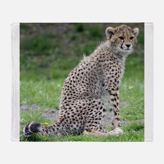 Cheetah006 Throw Blanket