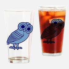 Funny Athena Drinking Glass