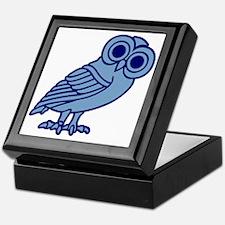 Unique Athena owl Keepsake Box