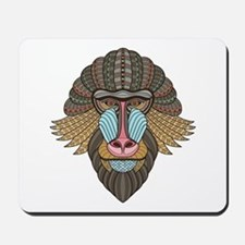 Tribal Baboon Mousepad