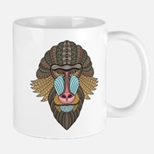 Tribal Baboon Mugs