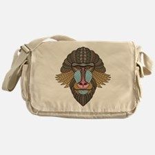 Tribal Baboon Messenger Bag