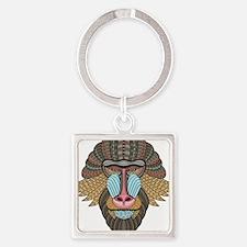 Tribal Baboon Keychains
