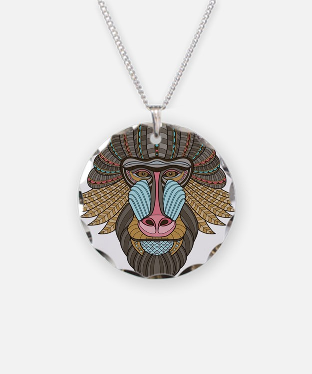 Tribal Baboon Necklace