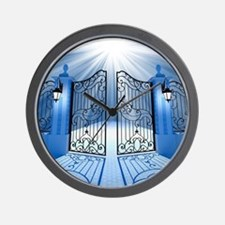 Heavenly Light Gate Wall Clock