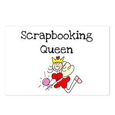 Scrapbooking Queen Postcards (Package of 8)
