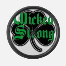Wicked Strong Large Wall Clock