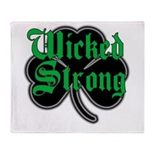 Wicked Strong Throw Blanket