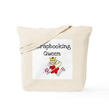 Scrapbooking Queen Tote Bag