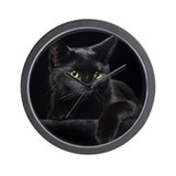 Black cat Wall Clocks