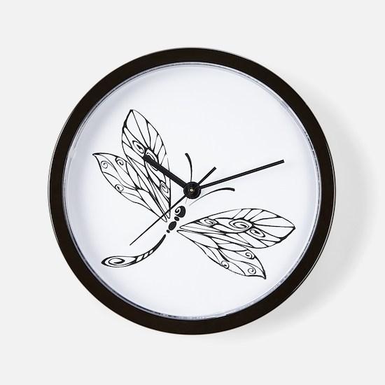 Cute Stylized Wall Clock