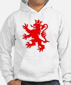 lion luxembourg crown Hoodie