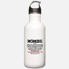 MOMBIE WINE QUOTE Water Bottle