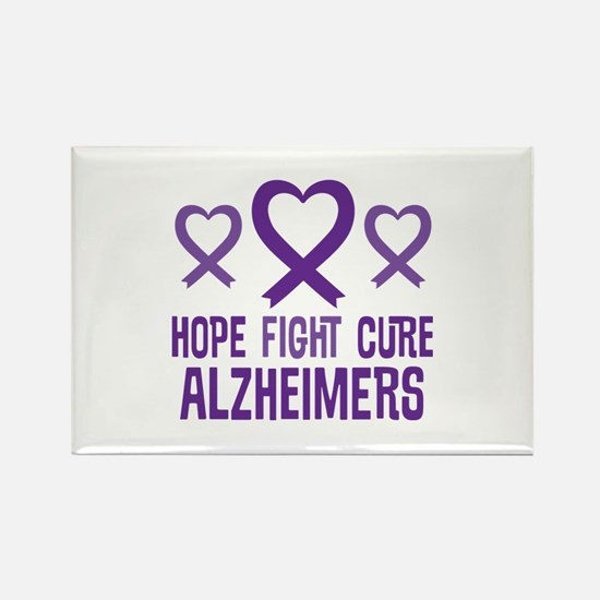 Alzheimers Hope Fight Cure Magnets
